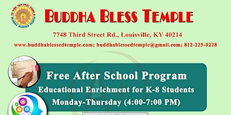 Free After School Tutoring Program (K-8) tickets