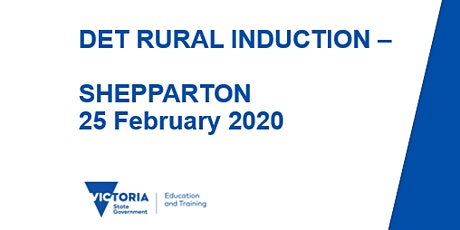 NEVR Rural Induction - Shepparton tickets