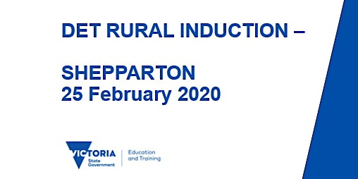 NEVR Rural Induction - Shepparton