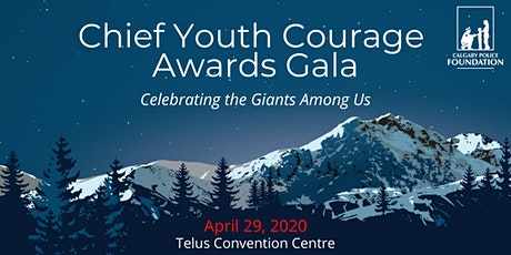 2020 Chief Youth Courage Awards Gala tickets