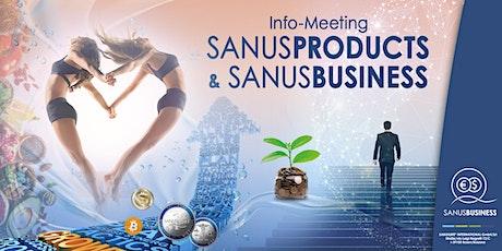 """SANUSLIFE-Infomeeting """"Eine Innovation geht um die Welt"""" Tickets"""