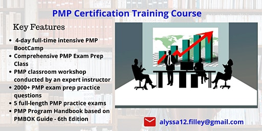 PMP Classroom Training in Columbus, OH