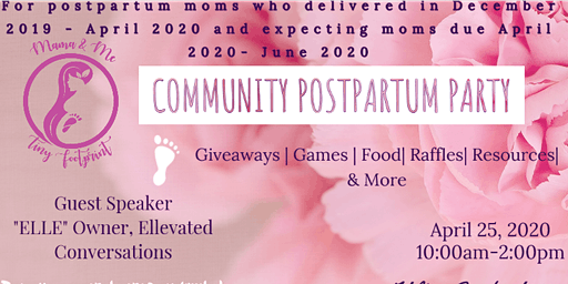 Community Postpartum Party