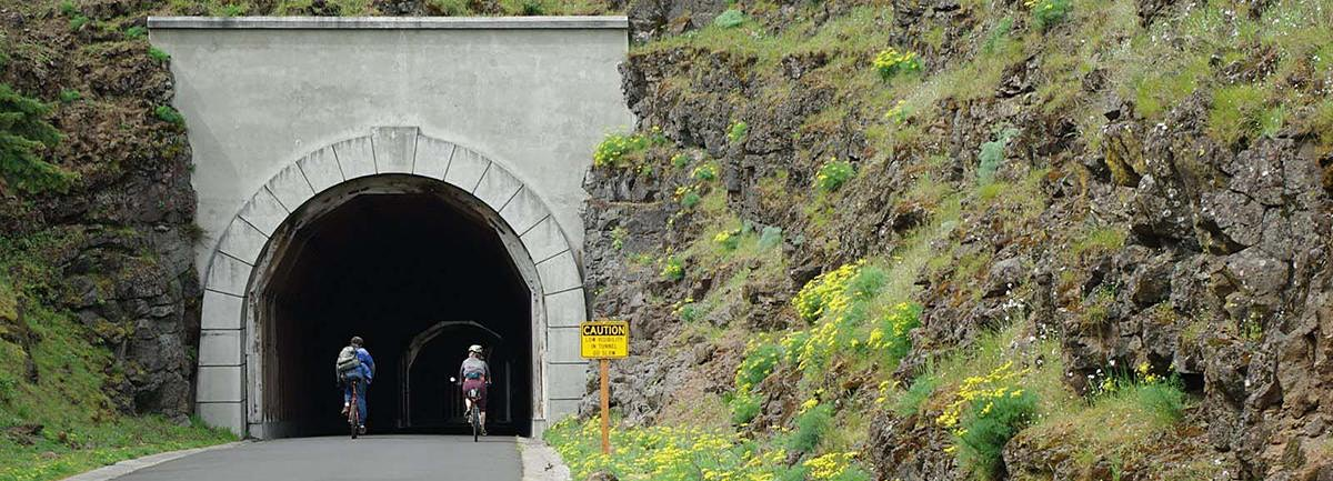 Historic Columbia River Hwy State Trail to Rowena Crest Bike Ride, OR