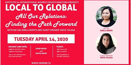 Local to Global 2020 with Tanya Talaga