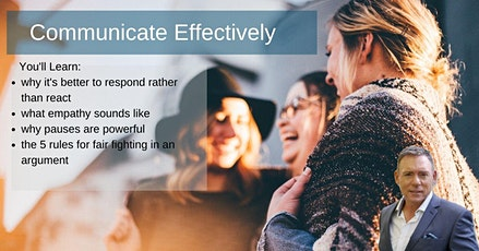 Communicate Effectively tickets