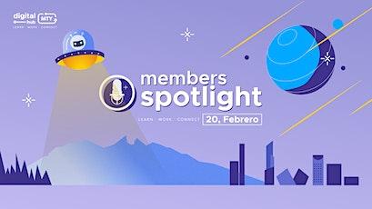 Mty Digital hub | Member's Spotlight boletos