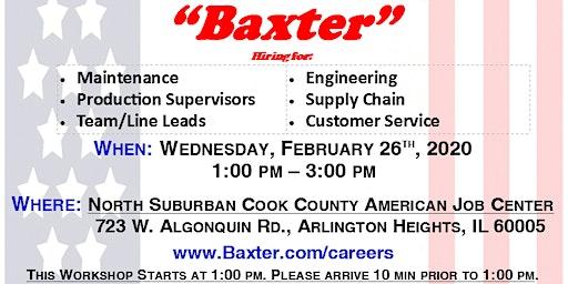 Employment Workshop with Baxter