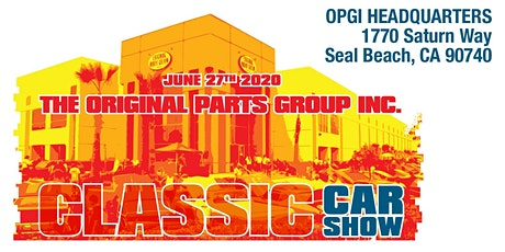 Original Parts Group Classic Car Show tickets