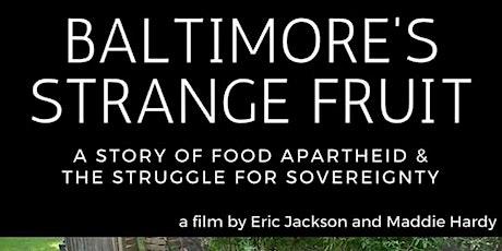 Baltimore's Strange Fruit tickets
