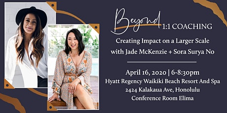 Beyond 1:1 Coaching: Creating Impact on a Larger Scale  tickets