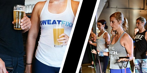 Sweat & Sip at Dorchester Brewing with Sweat Fixx