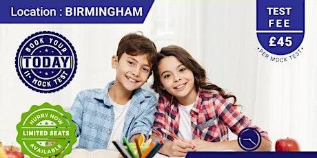11+ Mock Test - Birmingham tickets