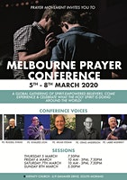 MELBOURNE PRAYER CONFERENCE - 5-8 MARCH