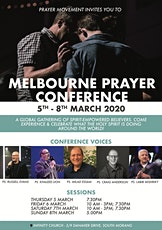 MELBOURNE PRAYER CONFERENCE - 5-8 MARCH tickets