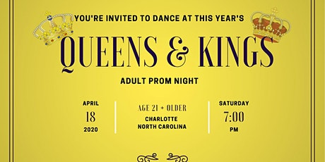 Queens & Kings Adult Prom Night tickets