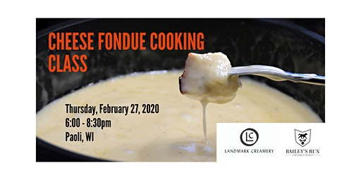 Cheese Fondue Cooking Class