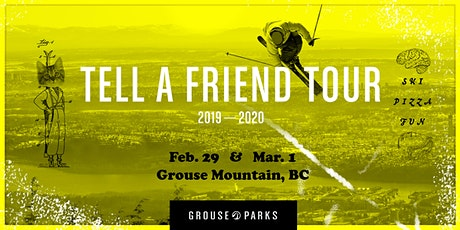 Tell A Friend Tour - Park and Pizza Party tickets