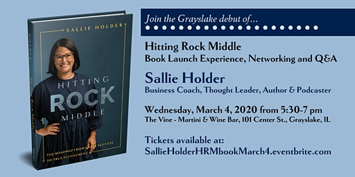 Sallie Holder HITTING ROCK MIDDLE Launch Party