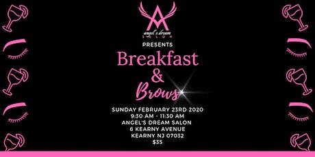 Breakfast & Brows tickets