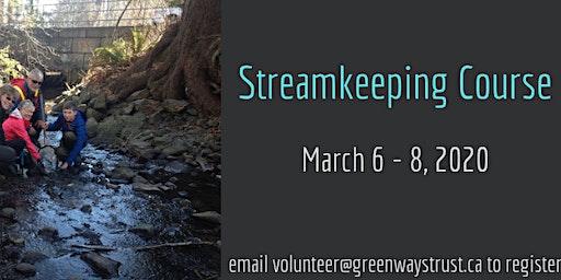 Streamkeeping Course