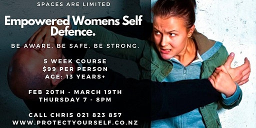 5 week Empowered Women Self Defence
