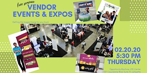 Vendor Events & Expos: Helping vendors increase profitability