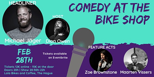 Comedy at the Bike Shop