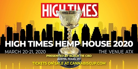High Times Hemp House & Hemp Cup 2020 tickets