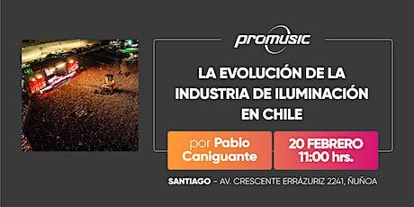La evolución de la industria de iluminación en Chile entradas