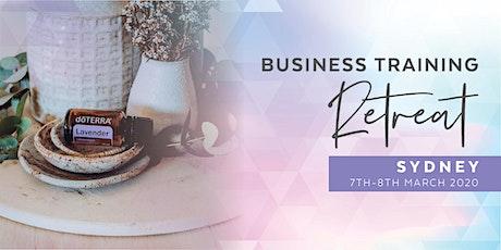 doTERRA Business Training Retreat - Sydney tickets