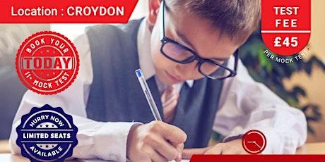 11+ Mock Test - Croydon tickets