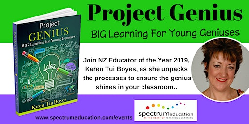 Project Genius Workshop with Karen Tui Boyes - Blenheim