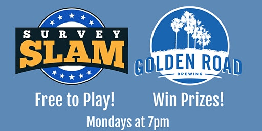 """Survey Slam! - """"Feud"""" Style Trivia at Golden Road Brewing!"""