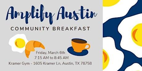 Amplify Austin Community Breakfast tickets