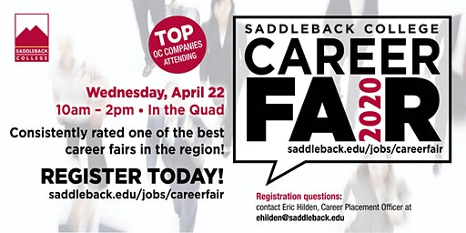 Saddleback College 2020 Career Fair