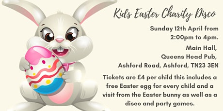 Kids Easter Charity Disco tickets