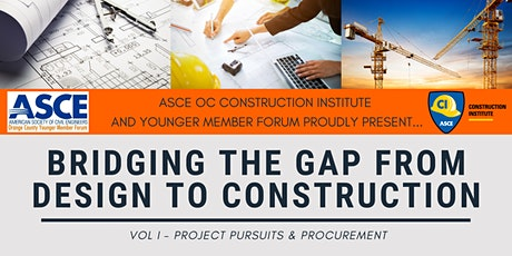 Bridging the Gap from Design to Construction: VOL I - Project Pursuits & Procurement tickets