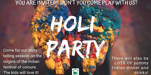 Holi Party at Notting Hill Neighbourhood House