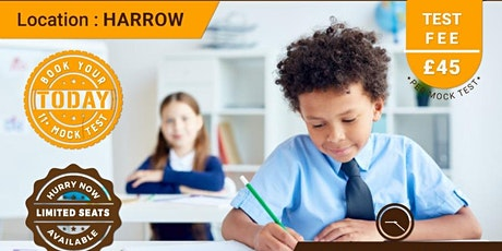 11+ Mock Test - Harrow tickets