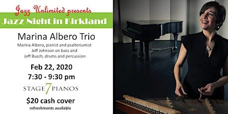 Jazz Unlimited presents The Marina Albero Trio in concert tickets
