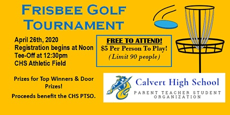 Frisbee Golf Tournament - CHS PTSO tickets