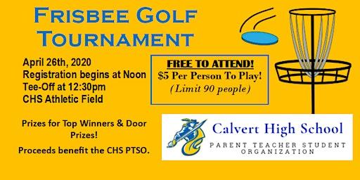 Frisbee Golf Tournament - CHS PTSO