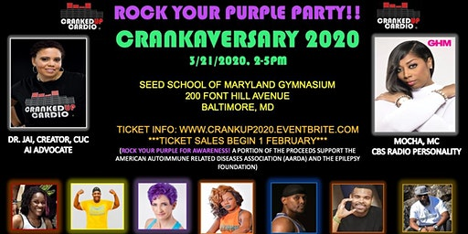 CRANKAVERSARY 2020: CRANK CRASH TIX SALE!