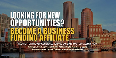 Start your Own Business Funding Agency Boston MA tickets