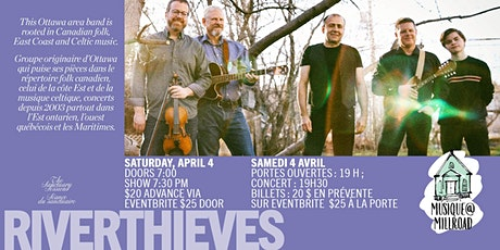 Riverthieves in Concert tickets