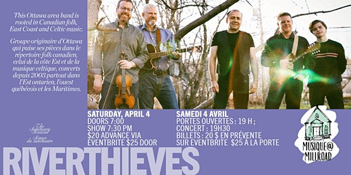 Riverthieves in Concert
