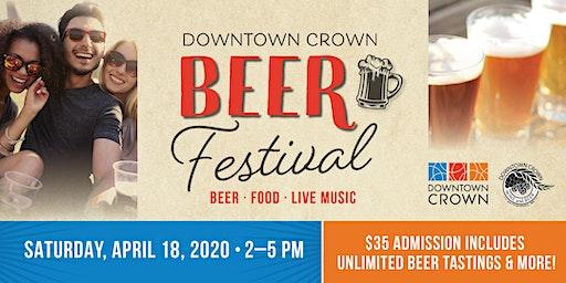 Downtown Crown Beer Festival