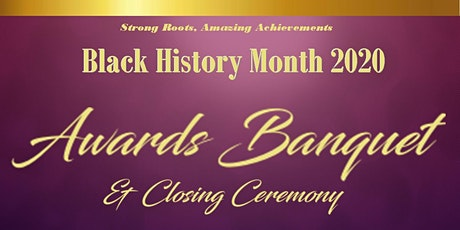 Black History Month Community Awards Banquet tickets