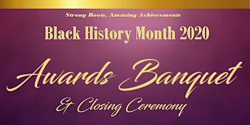 Black History Month Community Awards Banquet